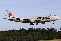 LX-YCV @ ELLX - LX-YCV Cargolux - by Matthias Becker