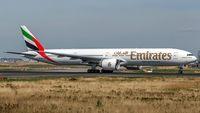 A6-ENE @ EDDF - departure from Frankfurt