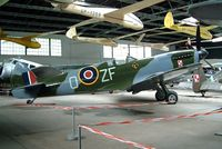 SM411 - Supermarine Spitfire LF.XVIe [CBAF.IX.3495] Krakow Museum Malopolskie~SP 20/05/2004. Marked TB995.