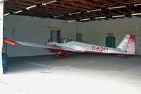 D-KDBI @ EDOX - Scheibe SF-25C Falke 1700 [44258] Renneritz-Wolfen~D 22/05/2004 - by Ray Barber