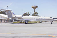 B-8132 @ YSWG - China Kingho (B-8132) Gulfstream Aerospace GV-SP (G550)  parked on the tarmac at Wagga Wagga Airport. - by YSWG-photography