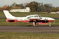 G-EGLT @ EGNX - 1980 Cessna 310R, c/n: 310R-1874 at East Midlands