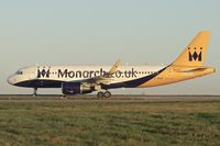 G-ZBAB @ EGNX - 2013 Airbus A320-214, c/n: 5581 of Monarch Airlines