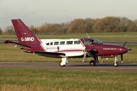 G-MIND @ EGNX - 1976 Cessna 404, c/n: 404-0004 at East Midlands