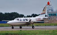 D-IDEE @ EGSH - Taxying following crosswind landing !! Piper PA-60-602P Aerostar !! - by keithnewsome