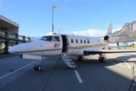 D-CRIS @ LOWI - Tyrol Air Ambulance Gulfstream G100