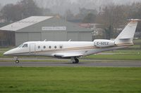 C-GZCZ @ EGTE - Taxiing on R08 for departure to Keflavik - by Andy Stevens