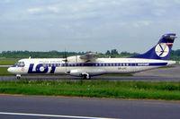SP-LFC @ EPWA - Aerospatiale ATR-72-202 [272] (Eurolot) Warsaw-Okecie (Frederic Chopin)~SP 18/05/2004