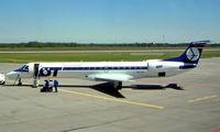 SP-LGA @ EPKT - SP-LGA   Embraer ERJ-145EP [145155] (LOT-Polish Airlines) Katowice-Pyrzowice~SP 19/05/2004