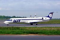 SP-LGI @ EPWA - Embraer ERJ-145MP [145336] (LOT Polish Airlines) Warsaw-Okecie (Frederic Chopin)~SP 18/05/2004 - by Ray Barber