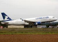 EI-EUA @ LFBT - Landing rwy 20 - by Shunn311