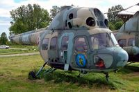 3001 @ EPKK - Mil Mi-2PSz Hoplite [543001063] (Polish Air Force) Cracow-Balice (John Paul II International)~SP 19/05/2004 - by Ray Barber