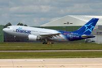 C-GPAT @ EGCC - Air Transat Airbus A310-308 takeoff in MAN/EGCC