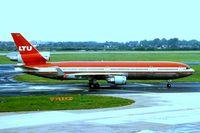D-AERW @ EDDL - McDonnell Douglas MD-11 [48485] (LTU) Dusseldorf~D 31/08/1996 - by Ray Barber