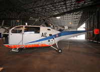001 @ LFBY - Preserved inside Dax ALAT Museum... First Alouette 3 prototype - by Shunn311