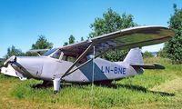 LN-BNE @ ENKJ - Stinson 108-1 Voyager [108-1793] Kjeller~LN 04/06/2000 - by Ray Barber
