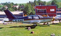 LN-KAE @ ENKJ - Socata TB-10 Tobago [27] Kjeller~LN 04/06/2000 - by Ray Barber
