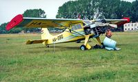 HA-SBG - PZL-Okecie PZL-101A Gawron [107233] Tapolca~HA 22/06/1996