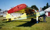 HA-SBL @ LHFH - PZL-Okecie PZL-101A Gawron [119294] Farkashegy~HA 16/06/1996