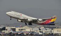 HL7418 @ KLAX - Departing LAX