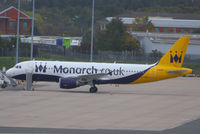 G-OZBK @ EGBB - Monarch Airlines - by Chris Hall