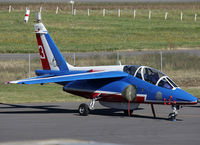 E95 @ LFBT - Parked at the General Aviation area with additional 60th anniversary patch... - by Shunn311