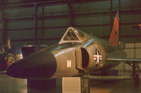 56-1416 @ FFO - F-102A Delta Dagger of 57th Fighter Interceptor Squadron at Keflavik as displayed at the USAF Museum in 1977. - by Peter Nicholson