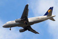 D-AKNH @ EGLL - Airbus A319-112 [0794] (Lufthansa) Home~G 23/06/2013. On approach 27R. - by Ray Barber