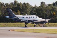 N965LG @ ORL - Beech E-90 leaving NBAA - by Florida Metal