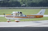 N13887 @ ORL - Cessna 172M - by Florida Metal