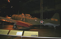 10575 @ DWF - This SBD Dauntless is painted as an A-24, 115786. - by Daniel L. Berek