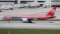 YV450T @ MIA - Santa Barbara 757-200