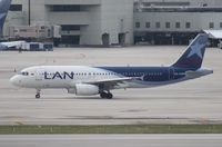 CC-CQM @ MIA - LAN Colombia A320 - by Florida Metal
