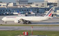 F-GZNK @ MIA - Air France 777-300 - by Florida Metal