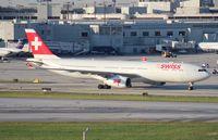 HB-JHG @ MIA - Swiss A330-300