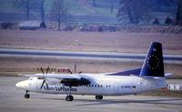 D-AFKL @ EDDM - Fokker 50 - by JPC
