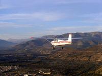 CC-KOA - C.172 sobrevolando la ciudad de Ovalle - by mrodriguez