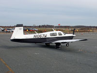 N1067W @ KMMU - Nice corporate Mooney came to New Jersey from Tennessee. - by Daniel L. Berek