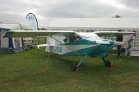 G-BOIB @ EGHP - Privately owned, at the Microlight Trade Fair. - by Howard J Curtis