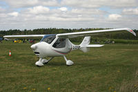 G-CFDP @ EGHP - Privately owned. At the Microlight Trade Fair. - by Howard J Curtis