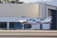 N1111X @ KSMO - Sportcruiser landing SMO Rwy21 - by COOL LAST SAMURAI