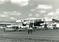 5Y-AOY - Taken at Wilson Airport outside CMC Aviation hangar following delivery of the two Trislanders bought by Uganda Aviation Services. 5Y-AOY was then used by SUnbird Charters for game park operations run by Viscount Andrew Cole. - by David Dixon