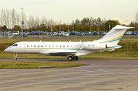 9H-CIO @ EGGW - 2013 Bombardier BD-700-1A10 Global 6000, c/n: 9535 at Luton - by Terry Fletcher