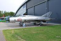 473 @ EHLE - MiG-21PFM at Lelystad - by moxy