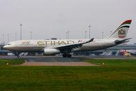A6-EYM @ EGCC - Etihad Airways - by Chris Hall