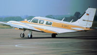 D-GIFT @ STN - PA-34-200 Seneca as seen at Stansted in September 1976. - by Peter Nicholson