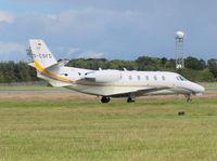 D-CSFD @ EDI - Stuttgarter Flugdienst SFD Cessna 560XL citation Excel - by Mike stanners