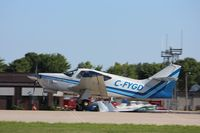 C-FYGD @ KOSH - Aero Commander 112 - by Mark Pasqualino