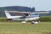 D-ECMA @ EDMT - Cessna 172M Skyhawk [172-66437] Tannheim~D 24/08/2013 - by Ray Barber