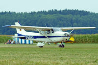D-EDAJ @ EDMT - Cessna 172M Skyhawk [172-61886] Tannheim~D 24/08/2013 - by Ray Barber